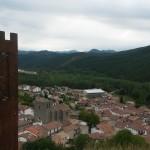 Burgui, desde el castillo