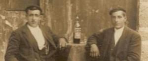 Doroteo Urzainqui y Victorino Eguinoa. Burgui.