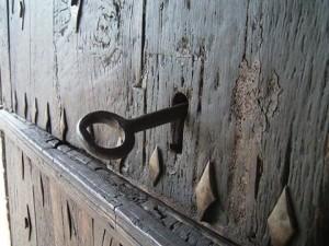 llave puerta