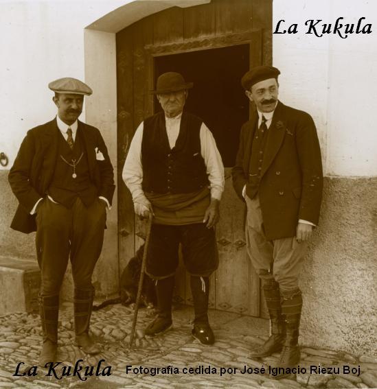 Foto abuelo roncalés 1916